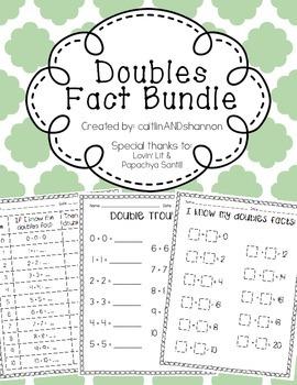 Doubles Fact Bundle