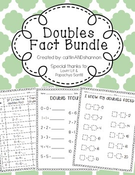 Doubles Fact Bundle