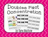 Doubles Fact Concentration