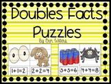 Doubles Fact Cut-Apart Puzzles FREEBIE