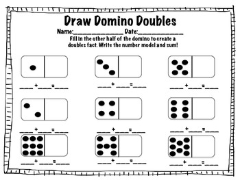 Doubles Fact Fluency