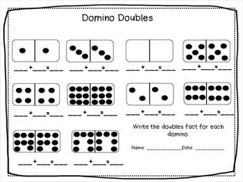 Doubles Fact Fluency