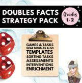 Doubles Fact Fluency Assessment and Activities 1.OA.C6 Tea