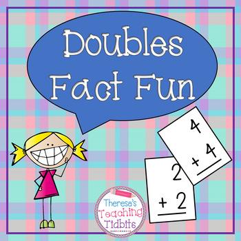 Fact Fluency Doubles Fact Fun