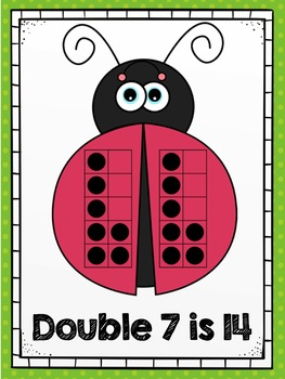 Doubles Facts Posters