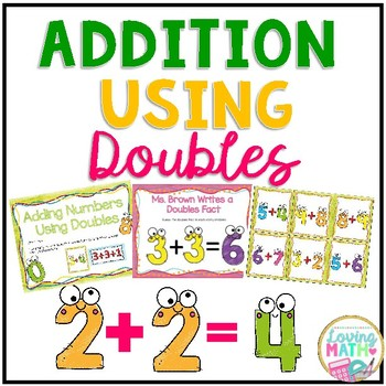 Doubles Facts Addition Games and Activities