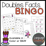 Doubles Facts Bingo! Sums to 20- Class set of 25 cards