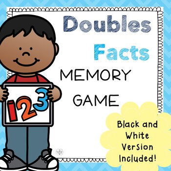 Doubles Facts Memory Game