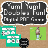 Doubles Facts Digitial Math Game