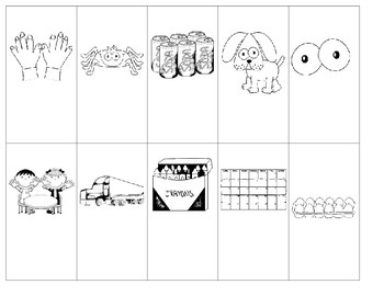 Doubles Facts Flash Cards with Picture Prompts