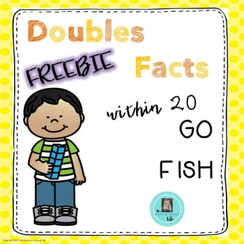 Doubles Facts GO FISH Game