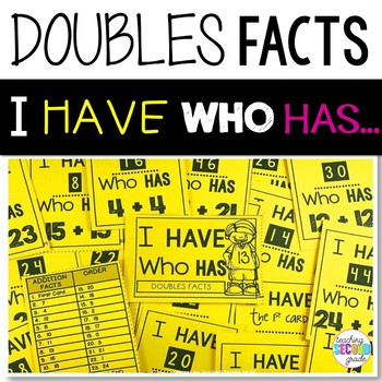 Doubles Facts Game I Have Who Has