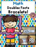 Doubles Facts Math Fun Learning Bracelets (English & Spanish)