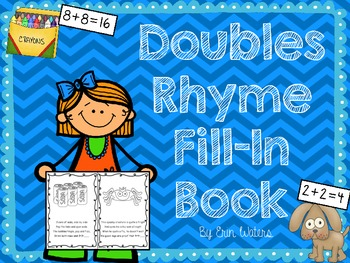 Doubles Facts: Math Poetry Fill-In Book