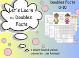 Doubles Facts Math Smart Board Lesson Primary Grades