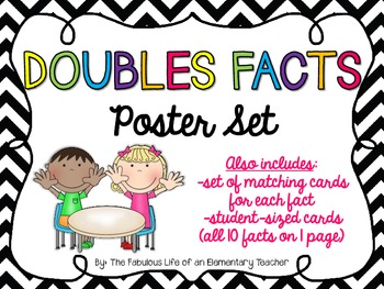 Doubles Facts Poster Set