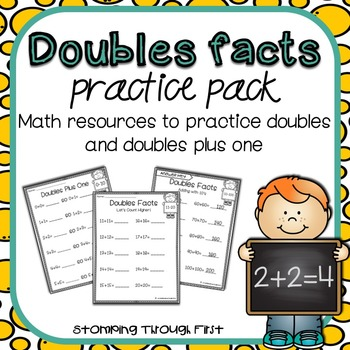 Doubles Facts Practice Pack