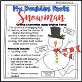 Doubles Facts Snowman