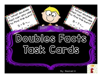 Doubles Facts Task Cards