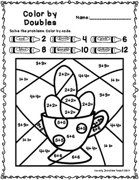 Doubles Facts to 12