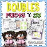 Doubles Facts to 20 {Doubles, Doubles + 1, Doubles + 2}