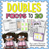 Doubles Facts to 20 {Doubles, Doubles + 1, Doubles + 2}