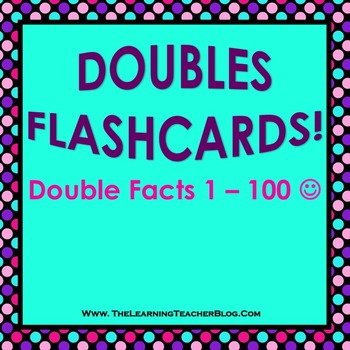 Doubles Flashcards (PowerPoint)