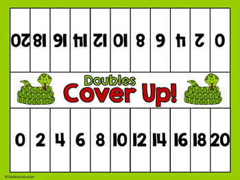 Doubles & Halves Addition and Subtraction Fluency Games