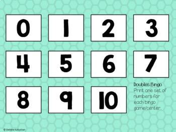 Doubles & Halves Bingo
