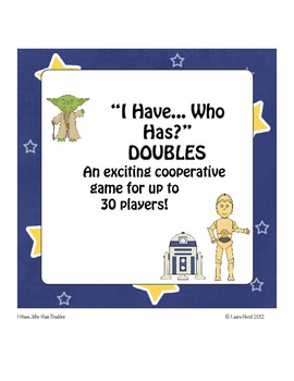 """Doubles: """"I Have...Who Has"""" Cooperative Game"""