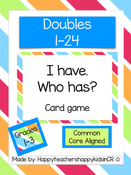 Doubles-I have. Who has?