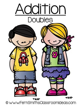 Addition Doubles A Quick and Easy to Prep Center and Printables