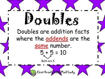 Doubles: Math Centers and Games