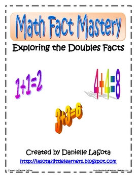 Doubles Math Fact Using Multiple Intelligences