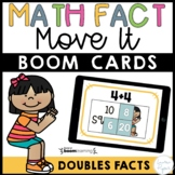 Doubles Math Facts Boom Cards™ - Doubles Facts Distance Learning