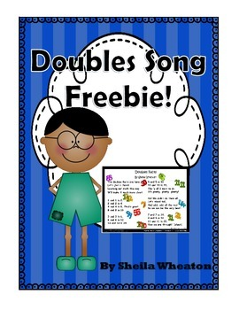 Doubles Math Facts Song - Freebie!