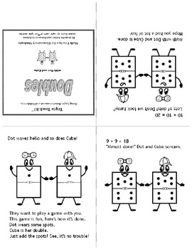 Doubles Math - Fun Rhyming Book for Early Learners