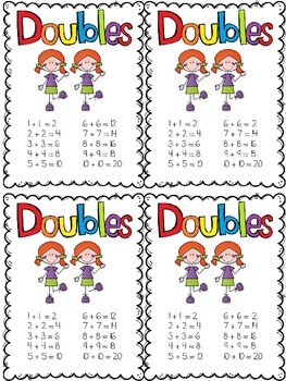 Doubles Math Stratey