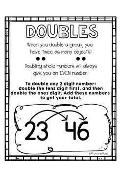 Doubles Mathtivity