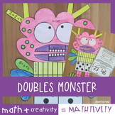 Doubles Addition Math Craft - Mathtivity