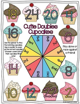 Doubles + Near-Doubles Activities & Games {Sweet Doubles}