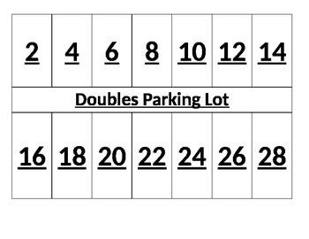 Doubles Parking Lot Center activity