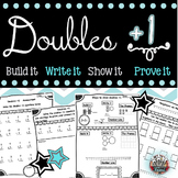Doubles Plus One: Math Strategies, Posters, printables, Center