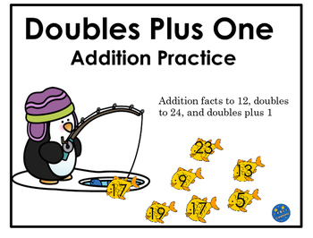 Doubles Plus 1 Addition Game