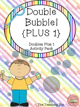 Doubles Plus 1 Facts Math Fun Learning Activity Pack