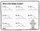 Doubles Plus 1 Math Activity Pages