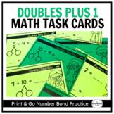 Doubles Plus 1, Number Bond Task Cards