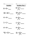 Doubles Plus 1 Worksheet (3)