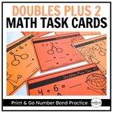 Doubles Plus 2, Number Bond Task Cards