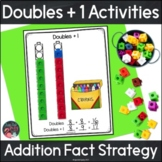 Doubles Plus One Addition Fact Strategy